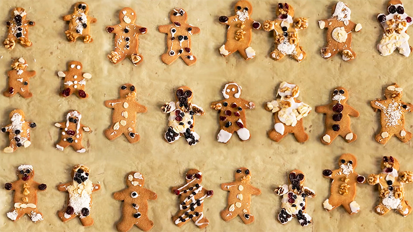 Christmas Gingerbread Men | Easy Gingerbread Cookies Recipe by Jamie Oliver