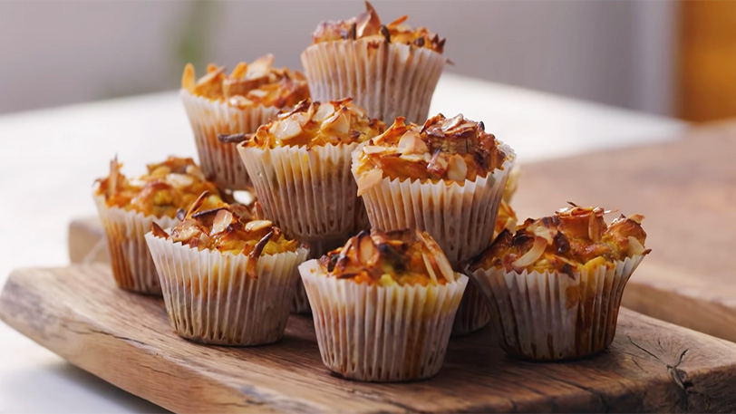Muffins recipe by Jamie Oliver