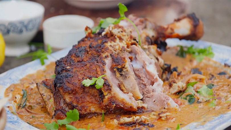 A Leg of Lamb🍗 | Thanksgiving Recipe by Jamie Oliver